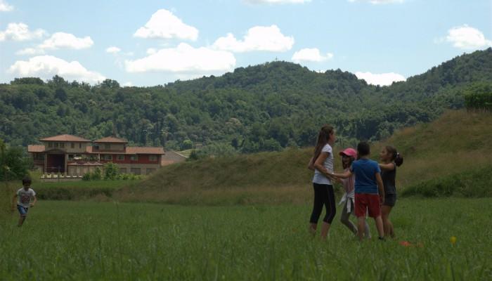 Campo Solare Estivo a Bergamo - sentirsi vivi tra cielo e terra