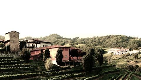 Campo solare estivo presso l'agriturismo Il Belvedere - Vista panoramica dall'Agriturismo Il Belvedere