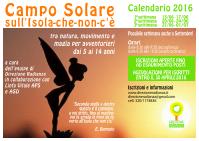 Volantino Campo Solare 2016